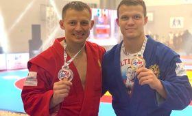 Самбисты из Калининграда выиграли три медали чемпионата мира средиветеранов